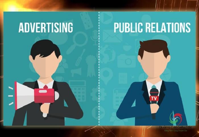 PR và quảng cáo là hoàn toàn khác nhau
