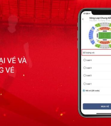 Hướng dẫn cách mua vé bóng đá online